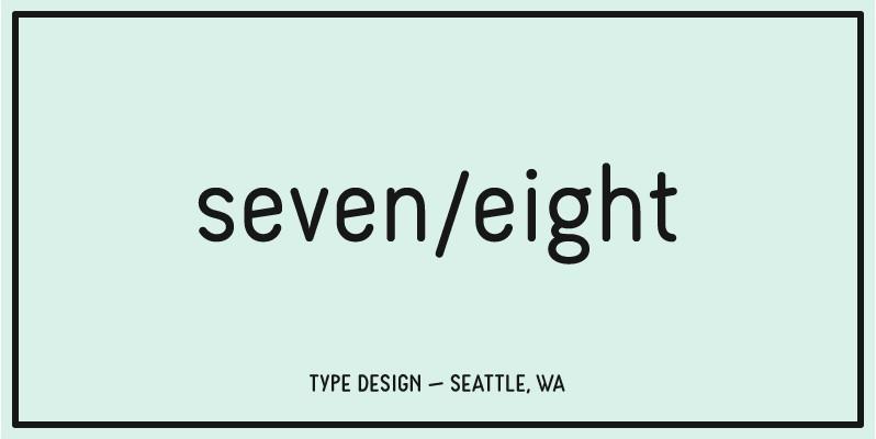 seven/eight