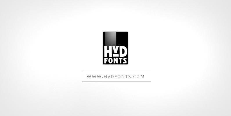 HVD Fonts