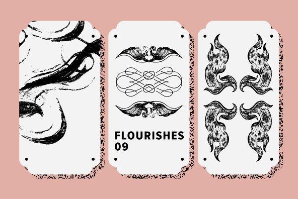 Flourishes 09