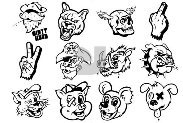 Malicious Mascots