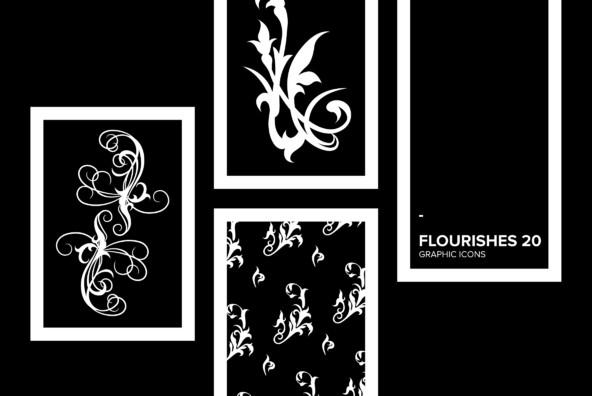 Flourishes 20