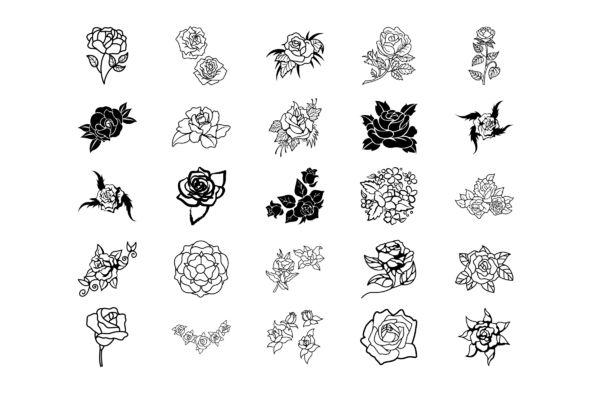 Botanicals 10  Roses