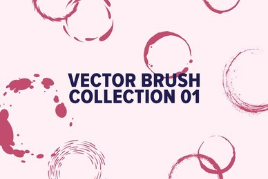 Vector Brush Collection  01