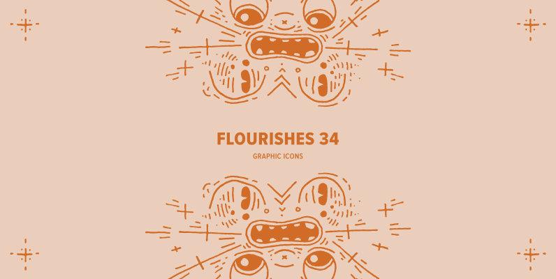 Flourishes 34