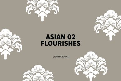 Asian Flourishes 02