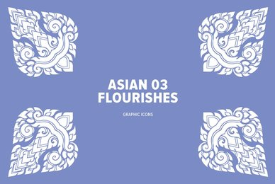 Asian Flourishes 03