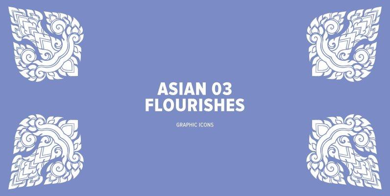 Asian Flourishes 03