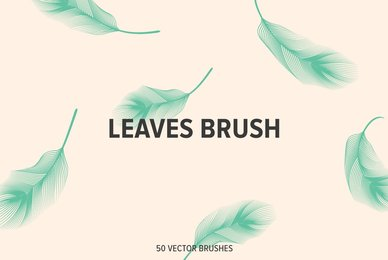 Leaves Brush 01