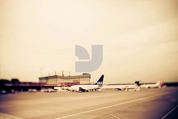 Airport Tilt Shift