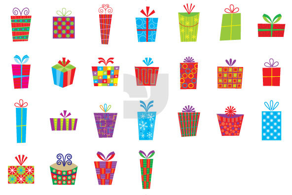 Christmas Gift Boxes 01