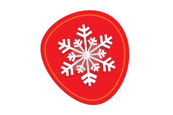 Christmas Snowflakes 01