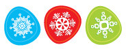 Christmas Snowflakes 02