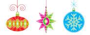 Christmas Ornaments 01