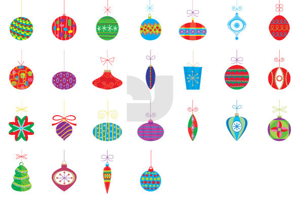 Christmas Ornaments 02