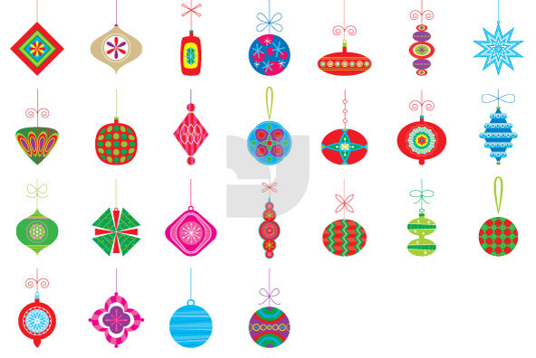 Christmas Ornaments 06