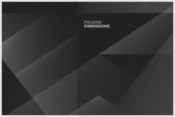 Folding Dimensions