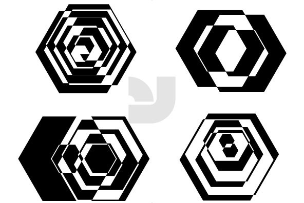 Hexagons Intersection