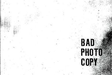 Bad Photocopy