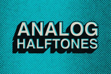 Analog Halftones