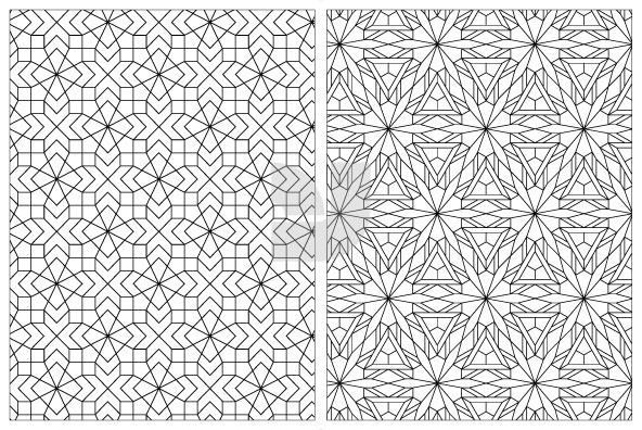 Geometric Pattern 02