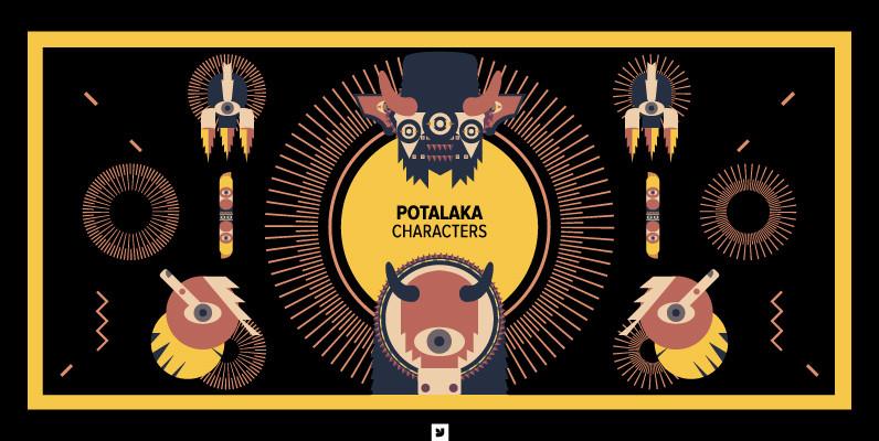 Potalaka Characters