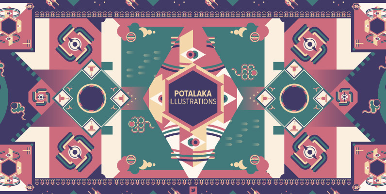 Potalaka Illustrations