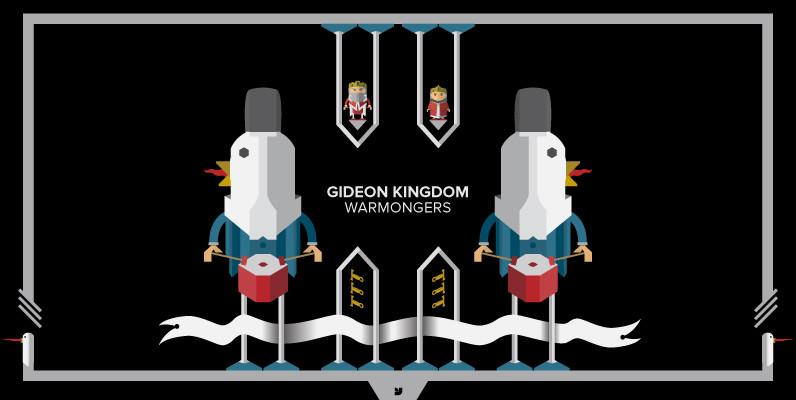 Gideon Kingdom   Warmongers