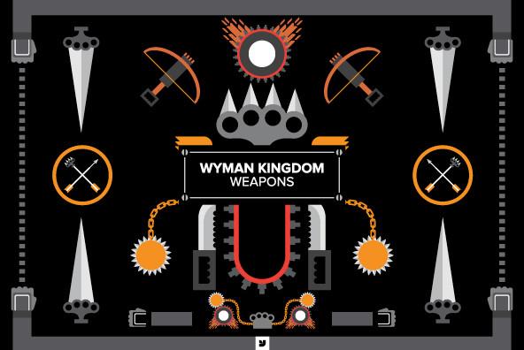 Wyman Kingdom   Weapons