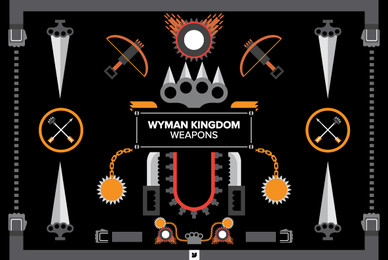 Wyman Kingdom   Weapons
