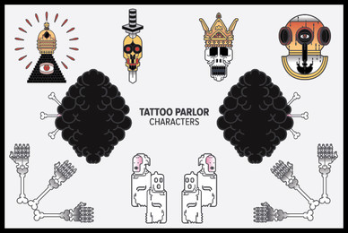 Tattoo Parlor Characters