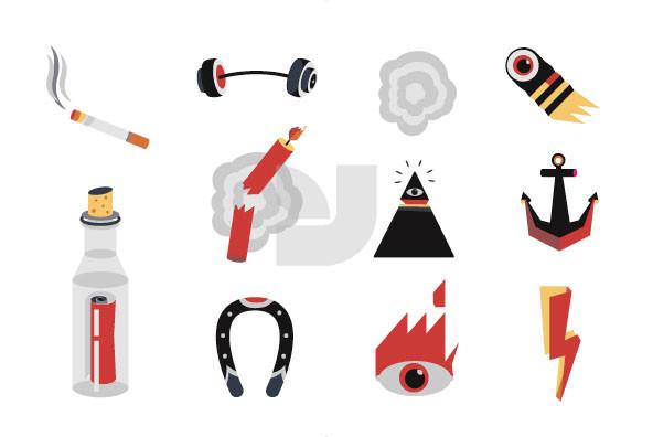 Tattoo Parlor Symbols