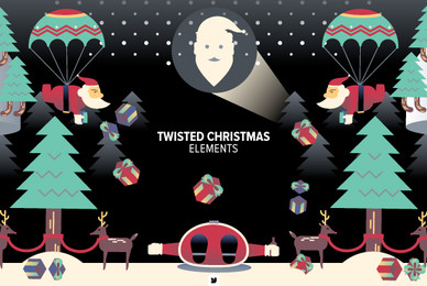 Twisted Christmas Elements 01
