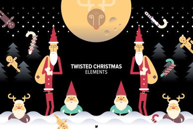 Twisted Christmas Elements 02