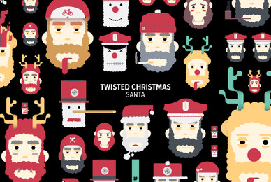 Twisted Christmas Santa 01