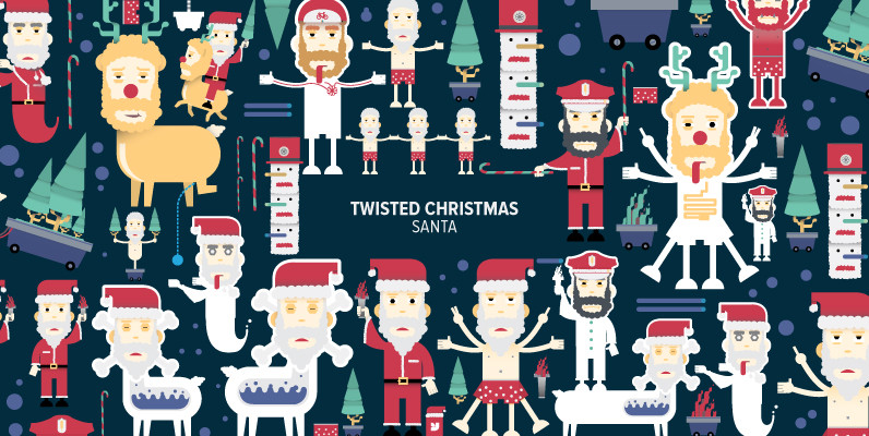 Twisted Christmas Santa 02