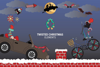 Twisted Christmas Elements