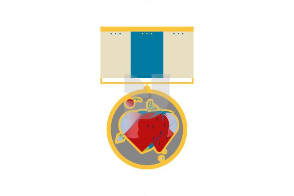 Valentine s Day  Medals