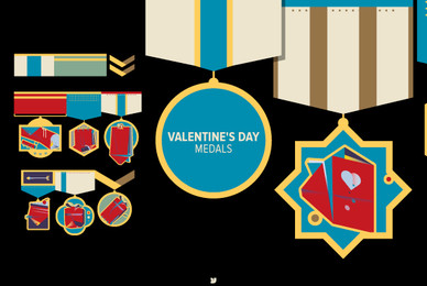 Valentine039 s Day Medals