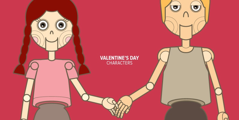 Valentine s Day  Characters