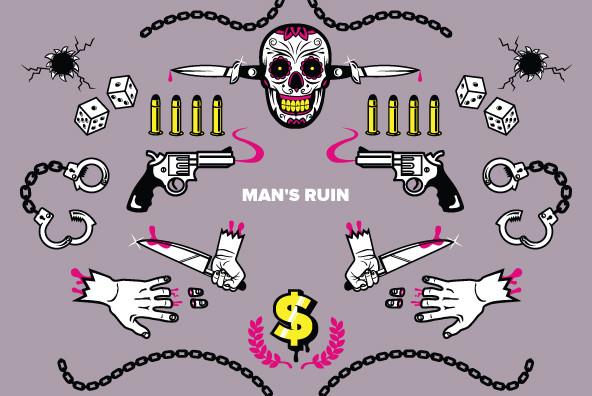 Man's Ruin - Graphics
