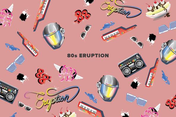 80's Eruption - Graphics