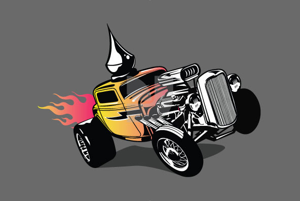 Haunted Hot Rods