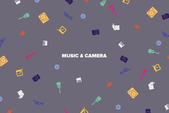 Music   Camera