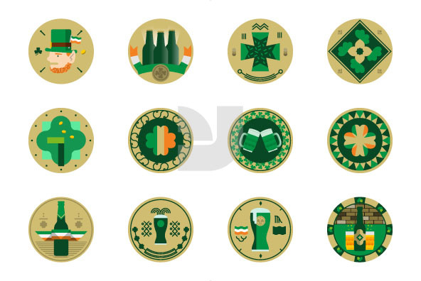 St  Patrick s Day Labels 02