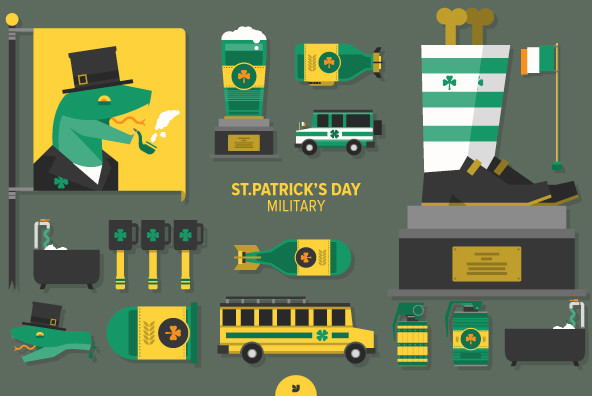 St.Patrick's Day Military - Graphics
