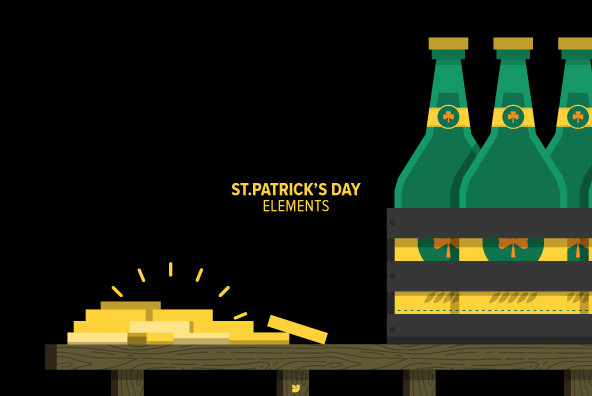 St.Patrick's Day Elements - Graphics