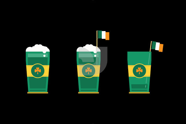 St Patrick s Day Elements