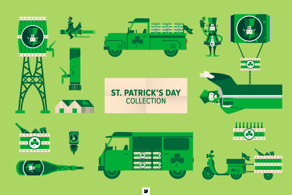 St Patrick's Day Collection - Graphics