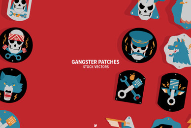 Gangster Patches