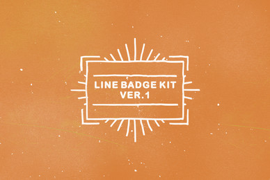 Line Badge Kit ver 1